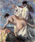 After bathing (3) - Šifra: Edgar Degas - ED03