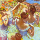 Dancers in blue - Šifra: Edgar Degas - ED06