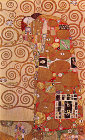 Fulfillment, Stoclet Frieze, 1909 - Šifra: Gustav Klimt - GK13