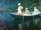 The Boat at Giverny - Šifra: Claude Monet - CM09