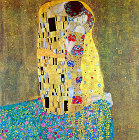 The Kiss - Šifra: Gustav Klimt - GK16