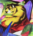 The tiger - Šifra: Franz Marc - FM05