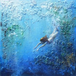 `Fragments of blue Freedom`