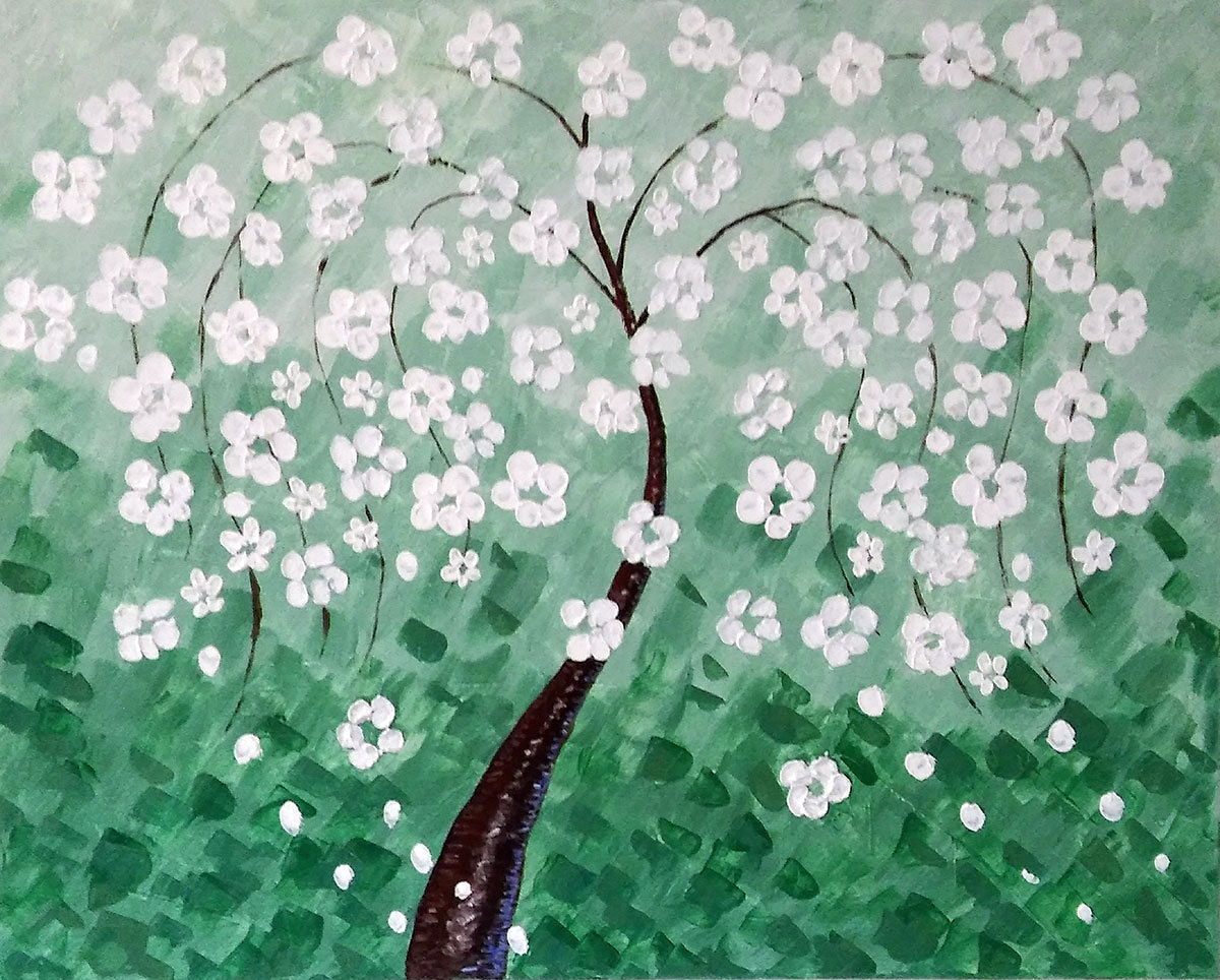 Green Cherry Tree