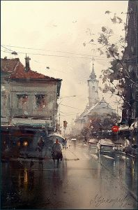 Zemun rainy day